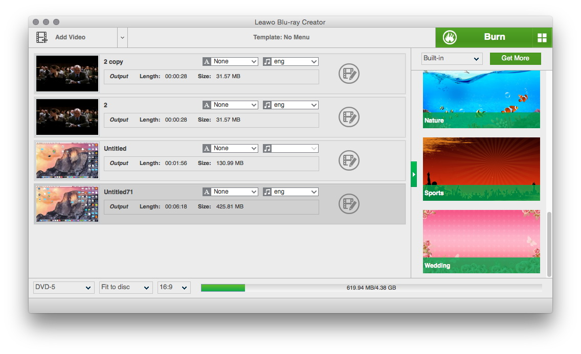 Mac software to burn audio mixtape with tracks download