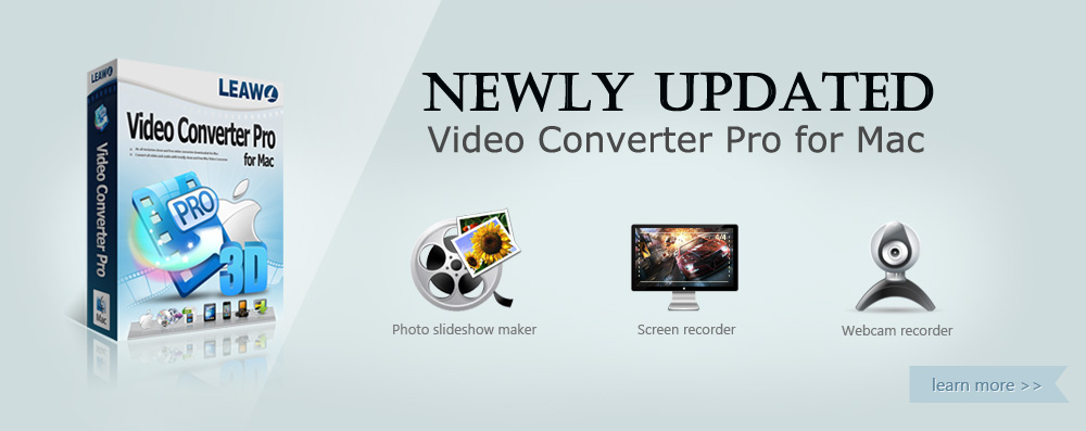 Leawo Video Converter Pro for Mac - The best Mac DVD/Blu-ray Ripper & Video Converter Mac