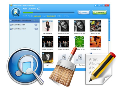 how to add album artwork to itunes manually