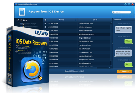 Leawo iOS Data Recovery