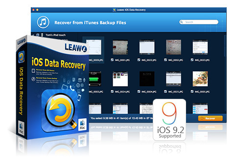 Leawo iOS Data Recovery for Mac