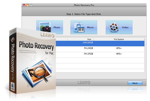 Leawo Photo Recovery for Mac